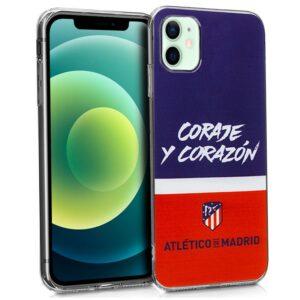 Carcasa IPhone 12 / 12 Pro Licencia Fútbol Atlético De Madrid