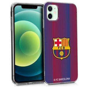 Carcasa IPhone 12 / 12 Pro Licencia Fútbol F.C. Barcelona