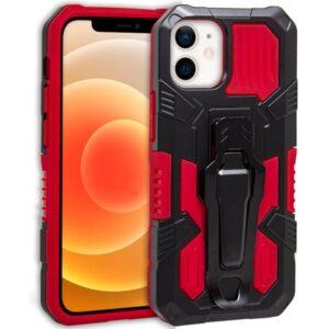 Carcasa IPhone 12 Mini Hard Clip Rojo