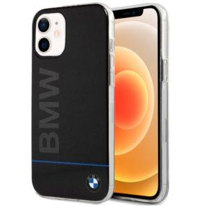 Carcasa IPhone 12 Mini Licencia BMW Letras Negro