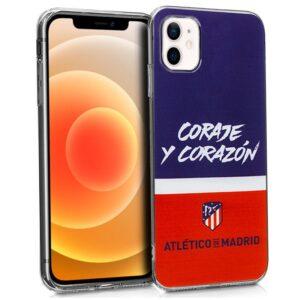 Carcasa IPhone 12 Mini Licencia Fútbol Atlético De Madrid
