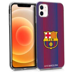 Carcasa IPhone 12 Mini Licencia Fútbol F.C. Barcelona