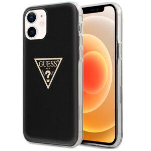 Carcasa IPhone 12 Mini Licencia Guess Negro