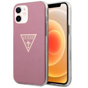 Carcasa IPhone 12 Mini Licencia Guess Rosa
