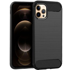 Carcasa IPhone 12 Pro Max Carbón Negro
