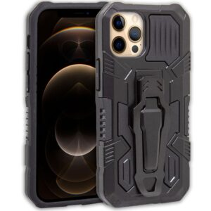 Carcasa IPhone 12 Pro Max Hard Clip Negro