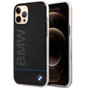 Carcasa IPhone 12 Pro Max Licencia BMW Letras Negro