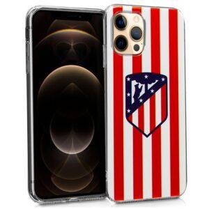 Carcasa IPhone 12 Pro Max Licencia Fútbol Atlético De Madrid