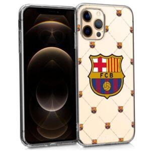 Carcasa IPhone 12 Pro Max Licencia Fútbol F.C. Barcelona