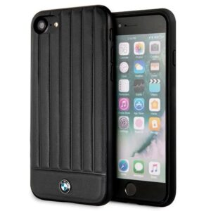 Carcasa IPhone 6 / 7 / 8 / SE (2020) Licencia BMW Piel Negro