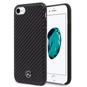 Carcasa IPhone 6 / 7 / 8 / SE (2020) Licencia Mercedes-Benz Carbón Negro