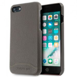 Carcasa IPhone 7 / 8 / SE (2020) Licencia Cerruti Piel Gris