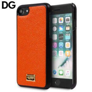 Carcasa IPhone 7 / 8 / SE (2020) Licencia Dolce Gabbana Liso Naranja
