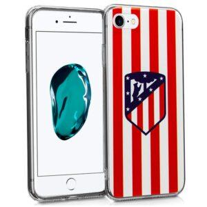 Carcasa IPhone 7 / 8 / SE (2020) Licencia Fútbol Atlético De Madrid