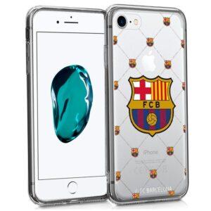 Carcasa IPhone 7 / 8 / SE (2020) Licencia Fútbol F.C. Barcelona