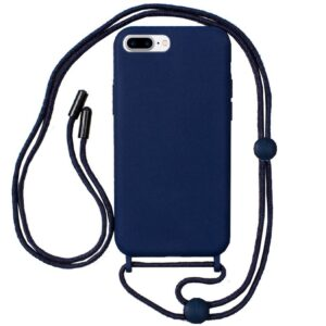 Carcasa IPhone 7 Plus / IPhone 8 Plus Cordón Liso Azul