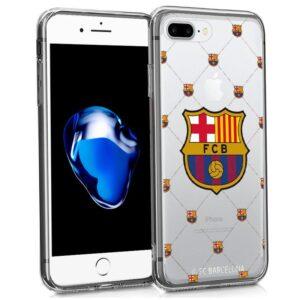 Carcasa IPhone 7 Plus / IPhone 8 Plus Licencia Fútbol F.C. Barcelona