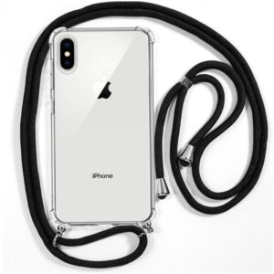 Carcasa IPhone X / IPhone XS Cordón Negro