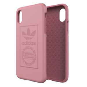 Carcasa IPhone X / IPhone XS Licencia Adidas Hard Rosa