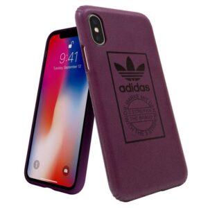 Carcasa IPhone X / IPhone XS Licencia Adidas Hard Violeta