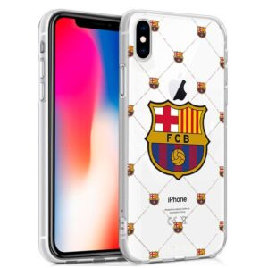 Carcasa IPhone X / IPhone XS Licencia Fútbol F.C. Barcelona
