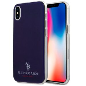 Carcasa IPhone X / IPhone XS Licencia Polo Ralph Lauren Marino