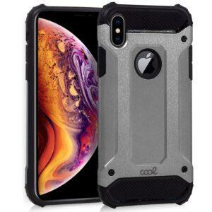 Carcasa IPhone XS Max Hard Case Plata