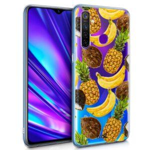 Carcasa Realme 5 Pro Clear Fruit