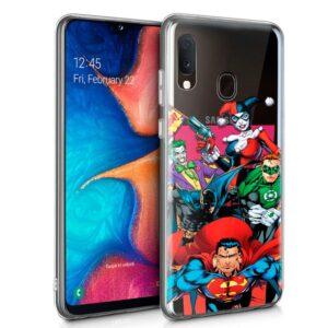 Carcasa Samsung A202 Galaxy A20e Licencia DC Justice League