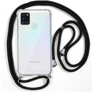 Carcasa Samsung A217 Galaxy A21s Cordón Negro