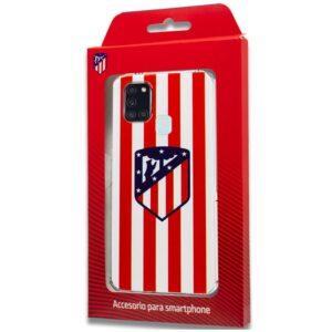 Carcasa Samsung A217 Galaxy A21s Fútbol Atlético De Madrid