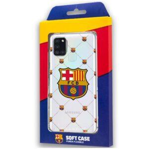 Carcasa Samsung A217 Galaxy A21s Licencia Fútbol F.C. Barcelona
