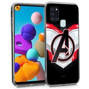 Carcasa Samsung A217 Galaxy A21s Licencia Marvel Avengers