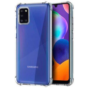 Carcasa Samsung A315 Galaxy A31 AntiShock Transparente