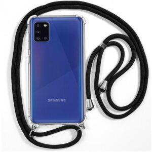 Carcasa Samsung A315 Galaxy A31 Cordón Negro