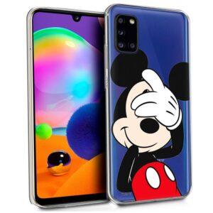 Carcasa Samsung A315 Galaxy A31 Licencia Disney Mickey