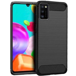 Carcasa Samsung A415 Galaxy A41 Carbón Negro