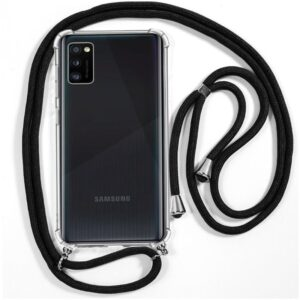 Carcasa Samsung A415 Galaxy A41 Cordón Negro