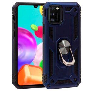 Carcasa Samsung A415 Galaxy A41 Hard Anilla Azul