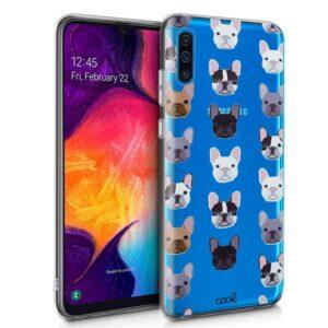 Carcasa Samsung A505 Galaxy A50 / A30s Clear Dogs