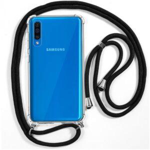Carcasa Samsung A505 Galaxy A50 / A30s Cordón Negro