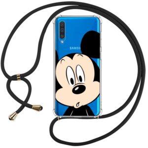 Carcasa Samsung A505 Galaxy A50 / A30s Licencia Disney Mickey Cordón