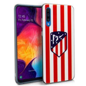 Carcasa Samsung A505 Galaxy A50 / A30s Licencia Fútbol Atlético De Madrid