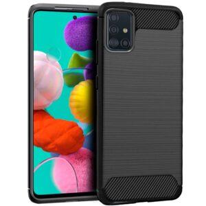 Carcasa Samsung A515 Galaxy A51 Carbón Negro