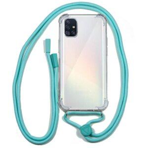 Carcasa Samsung A515 Galaxy A51 Cordón Celeste