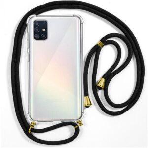 Carcasa Samsung A515 Galaxy A51 Cordón Negro