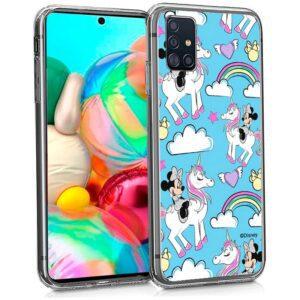 Carcasa Samsung A715 Galaxy A71 Licencia Disney Minnie