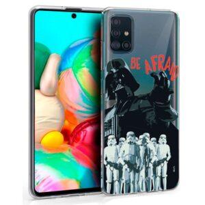 Carcasa Samsung A715 Galaxy A71 Licencia Star Wars Darth Vader