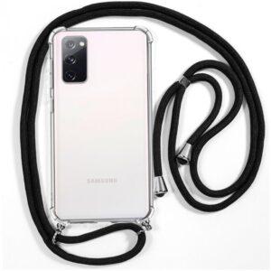 Carcasa Samsung G780 Galaxy S20 FE Cordón Negro