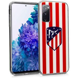 Carcasa Samsung G780 Galaxy S20 FE Licencia Fútbol Atlético De Madrid